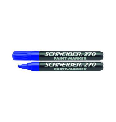 Lackmarker Maxx 270 blau 1-3mm Rundspitze