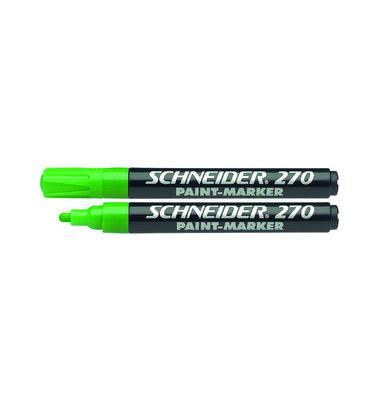 Lackmarker Maxx 270 grün 1-3mm Rundspitze