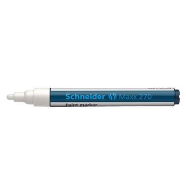 Lackmarker Maxx 270 weiß 1-3mm Rundspitze