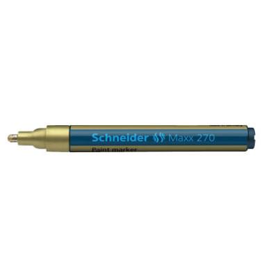 Lackmarker Maxx 270 gold 1-3mm Rundspitze