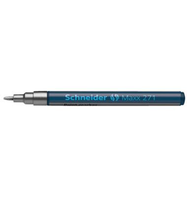 Lackmarker Maxx 271 silber 1-2mm Rundspitze