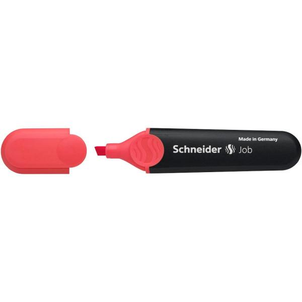 Schneider textmarker job 150 rot 1 4 5mm keilspitze for Schneider versand privatkunden