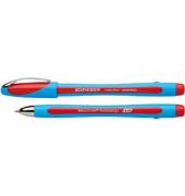 Kugelschreiber Slider memo XB hellblau/rot 1,4 mm