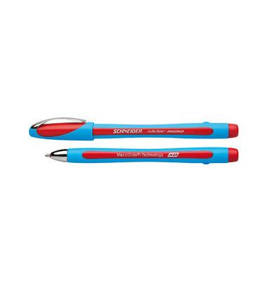 Slider memo XB hellblau/rot Kugelschreiber 1,4mm