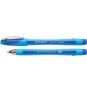 Kugelschreiber Slider memo XB hellblau/blau 1,4 mm