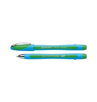 Slider memo XB hellblau/grün Kugelschreiber 1,4mm