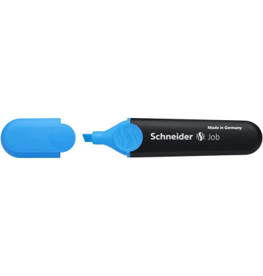 Schneider textmarker job 150 blau 1 4 5mm keilspitze for Schneider versand privatkunden