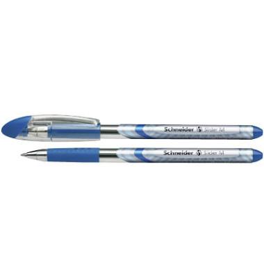 Schneider slider basic blau kugelschreiber m 0 5mm for Schneider versand privatkunden