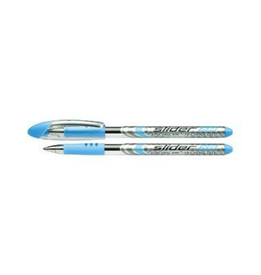 Kugelschreiber Slider Basic XB hellblau 0,7mm