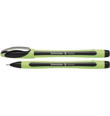Fineliner Xpress grün/schwarz 0,8 mm