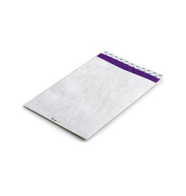 Versandtaschen B4 ohne Fenster haftklebend weiß 100 Stück Tyvek