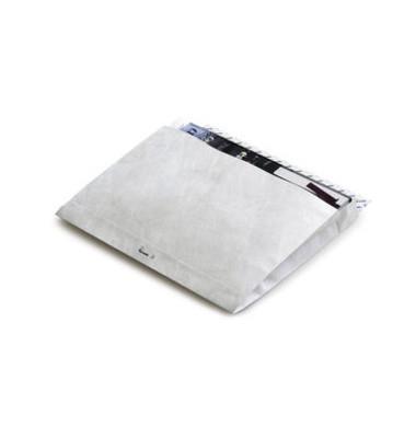 Faltentaschen E4 ohne Fenster 51mm Falte haftklebend weiß 100 Stück