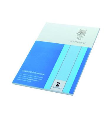 Gohrsmühle Briefpapier A4 100g weiß mit Wasserzeichen 50 Blatt