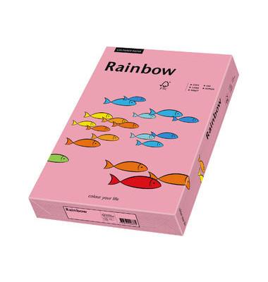 Coloured Paper rosa pastell A3 160g Kopierpapier 250 Blatt