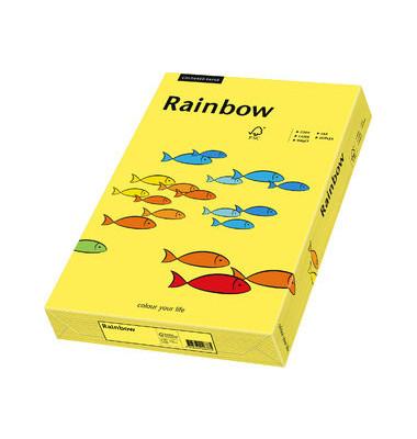 Coloured Paper kanariengelb intensiv A5 80g Kopierpapier 500 Blatt