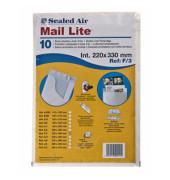 Luftpolstertaschen F/3, 100405568, innen 220x330mm, haftklebend, weiß