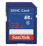 Speicherkarte SecureDigital High Capac.Card 32 GB