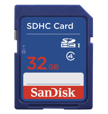 Speicherkarte SecureDigital High Capac.Card 32 GB