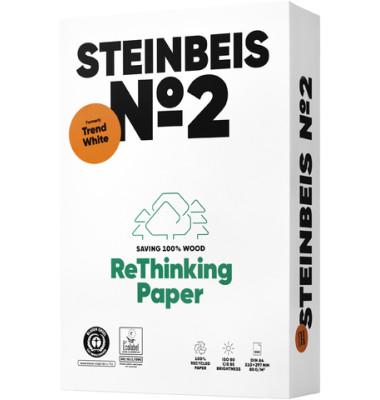 Trend  White A4 80g 2-fach gelocht Recyclingpapier 80er weiß 500 Blatt