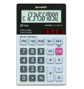 Taschenrechner EL-W211G 10-stellig hellgrau
