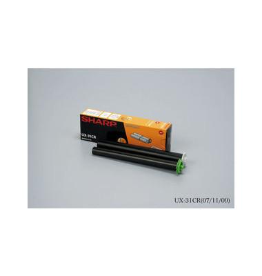 Thermotransferband UX31CR schwarz 100 Seiten