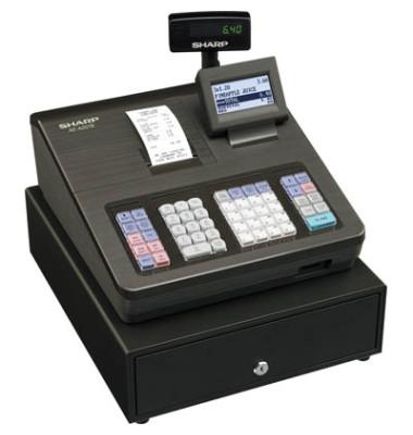 Registrierkasse XE-A207 schwarz 99 Warengr.bis 25 Bediener