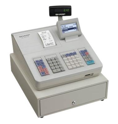 Registrierkasse XE-A207 weiß/grau 99 Warengr.bis 25 Bediener