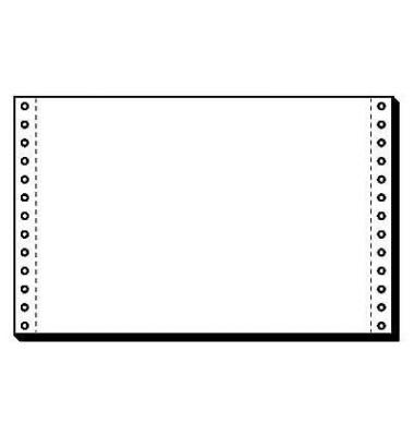 Computerpapier 1-fach 240mm x 152,4mm A5 quer weiß 70g 4000 Blatt