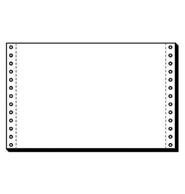 Endlospapier 06241, A5 quer blanko, 1-fach, 6 Zoll x 240 mm, 4000 Blatt