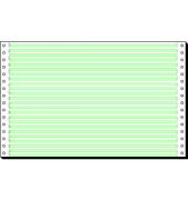 Computerpapier 1-fach 330mm x 8 Zoll LP LL 1/6 Zoll weiß 60g 2000 Blatt