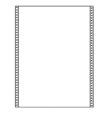 Endlospapier 12241, A4 hoch blanko, 1-fach, 12 Zoll x 240 mm, 2000 Blatt