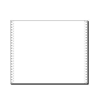 Computerpapier 1-fach 12 Zoll x 375mm A3 quer blanko LP 60g 2000 Blatt