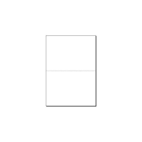 A4 auf A5 80 g perforiertes Kopierpapier weiß 1000 Blatt