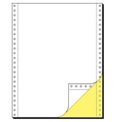Computerpapier 2-fach 240mm x 12 Zoll blanko LP SD 80g 1000 Blatt