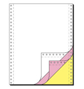 Computerpapier 3-fach 240mm x 12 Zoll blanko LP SD AHL 60g weiß 600 Blatt