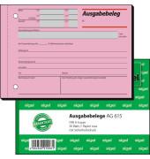 Ausgabebelege AG615 A6 quer 50 Blatt