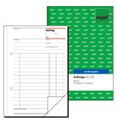 Auftragsbuch AU525 mit Durchschlag A5 2x50 Blatt