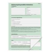 Arbeitsvertrag AV422 selbstdurchschreibend gewerblich A4 hoch