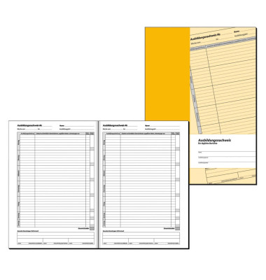 AW 480 Ausbildungsnachweis täglich geheftet 28 Blatt