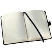 Notizbuch Conceptum A5 blanko schwarz 97 Blatt 80g Softwave