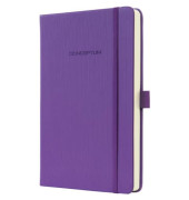 Notizbuch Conceptum CO571 PUREcolour magic purple A5 liniert 97 Blatt 194 Seiten Hardcover