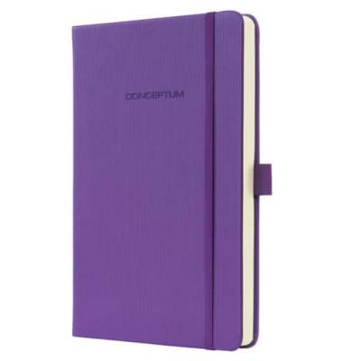 Notizbuch Conceptum Colour lin.80g MagicPur 135x203x20mm 194 S