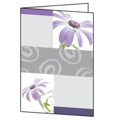 Faltkarte Motiv Emotion 220g A6 25 St