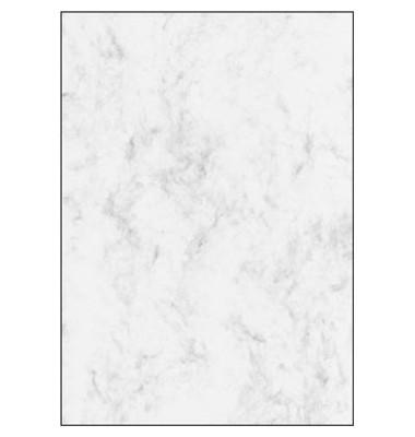 Motivpapier DP183 A4 90g grau Marmor 25 Blatt