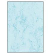 Motivpapier DP261 A4 90g blau Marmor 100 Blatt