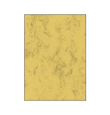 Motivpapier DP262 A4 90g sandbraun Marmor 100 Blatt