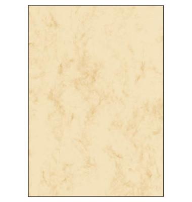 Motivpapier DP372 A4 90g beige Marmor 100 Blatt
