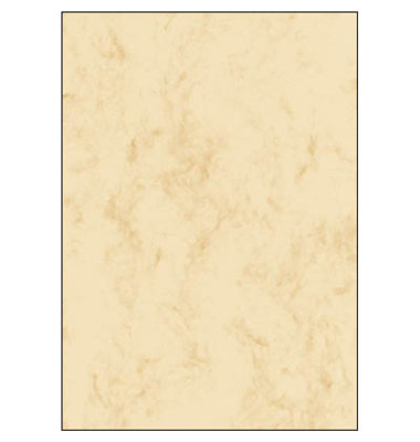 Motivpapier DP397 A4 200g beige Marmor 50 Blatt