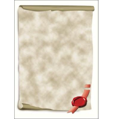 Motivpapier DP521 A4 185g Urkundenrolle 12 Blatt