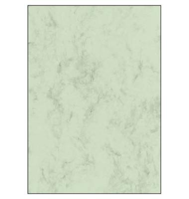 Motivpapier DP552 A4 200g pastellgrün Marmor 50 Blatt